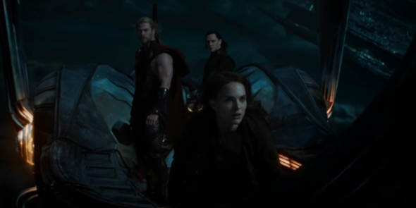Thor and Loki and Jane